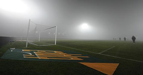 Wiener Neustadt gegen LASK wegen Nebels abgesagt (Bild: APA/ANDREAS PESSENLEHNER)