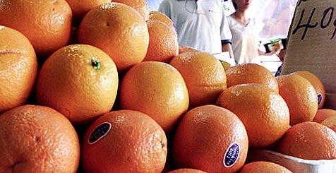 Neuen Weltrekord im Orangensaft-Pressen aufgestellt