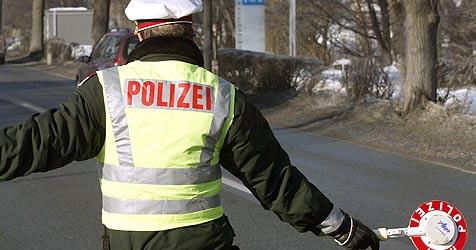 Verdächtiger bei Kontrolle auf Autobahn gefasst (Bild: Christof Birbaumer)