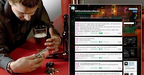 Besoffene SMS: Wenn Betrunkene zum Handy greifen (Bild: © 2009 Photos.com, a division of Getty Images)