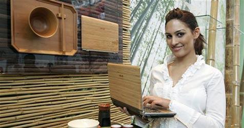 Dell packt Computer der Umwelt zuliebe in Bambus ein