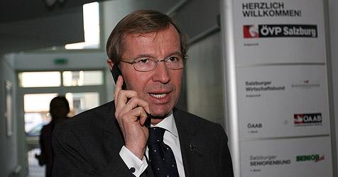 """Haslauer einziger """"Querulant"""" im ÖVP-Parteivorstand (Bild: Andreas Tröster)"""