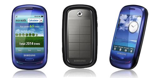 """Samsungs  Öko-Handy """"Blue Earth"""" jetzt erhältlich"""