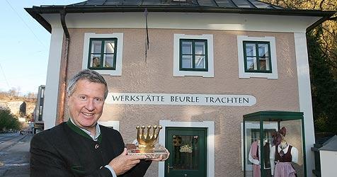 Trachten Beurle belebt uraltes Stadt-Haus neu (Bild: Andreas Tröster)