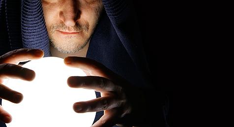 Hellseher tappten auch heuer wieder völlig im Dunkeln (Bild: © 2009 Photos.com, a division of Getty Images)