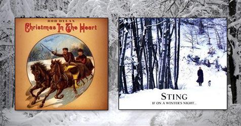 Weihnachten mit Rauschebart Sting und Santa Dylan