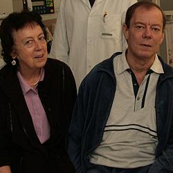 Rettung trotz unpassender Niere gelungen (Bild: Kronen Zeitung)
