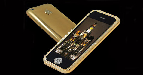 Teuerstes Handy der Welt kostet 2,1 Millionen Euro (Bild: Goldstriker International)