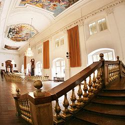 Beamte gehen auf die Suche nach den Residenz-Leihgaben (Bild: APA/Helmut Fohringer)
