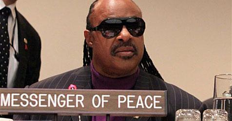 Stevie Wonder zum Friedensbotschafter der UNO berufen