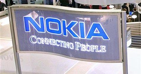 Handy-Riese Nokia droht Anschluss an Apple zu verlireren (Bild: AP)