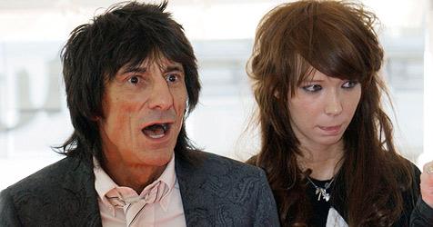 Ronnie Wood hat sich von junger Freundin getrennt