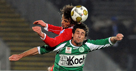 SC Wr. Neustadt verliert gegen SV Mattersburg mit 0:1 (Bild: APA/Herbert Pfarrhofer)