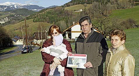 Biobauernhof von Gaspipeline und Tunnelbau bedroht (Bild: Reinhard Holl)