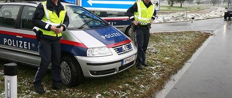 Einbrecher bei Kontrolle auf Autobahn gefasst (Bild: APA/DIETMAR MATHIS)