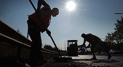 Ganzer Ort ist durch Straßenbau für 14 Tage abgeschnitten (Bild: dpa/dpaweb/dpa/Kay Nietfeld)