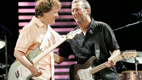 Eric Clapton kommt mit Steve Winwood nach Österreich