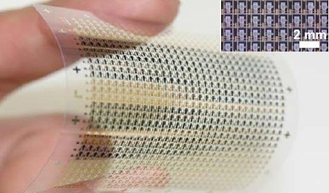 Forscher bauen ersten flexiblen Flash-Speicher (Bild: AAAS/Science)