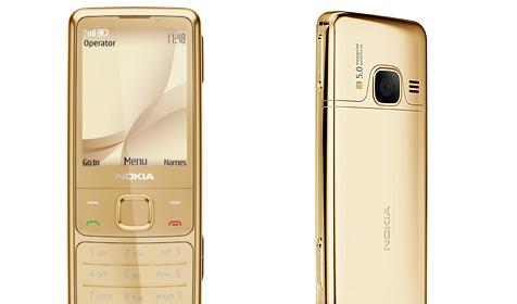Nokia bringt 2010 vergoldetes 6700 auf den Markt (Bild: Nokia)