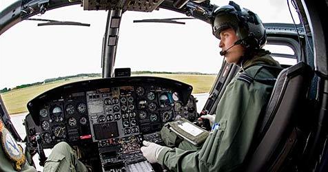 Prinz William wird wie Vater Charles Rettungspilot