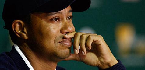 """Tiger Woods beendet Karriere für """"unbestimmte Zeit"""" (Bild: EPA)"""