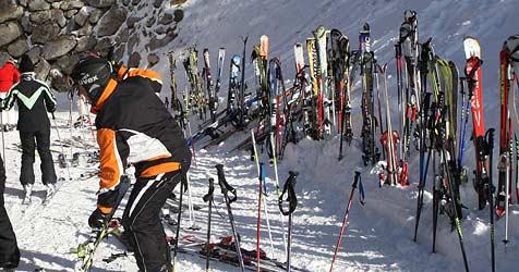 In Salzburg werden wieder weniger Ski gestohlen (Bild: Sepp Pail)
