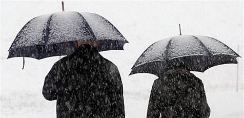 Rund 20 Zentimeter Neuschnee im ganzen Bundesland