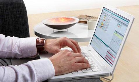 Gerät schützt Privatanleger vor Panik-Aktionen (Bild: Philips Design)