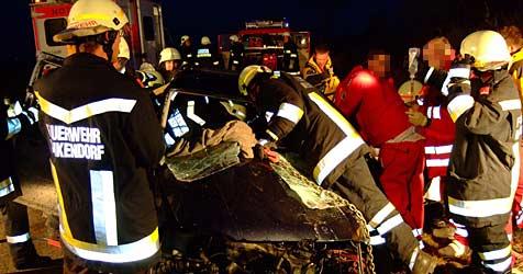 Weinviertler (44) nach Autounfall im Spital verstorben (Bild: ÖAMTC)