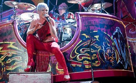 Pink rockte die ausverkaufte Wiener Stadthalle (Bild: Andreas Graf)