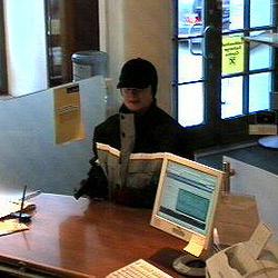 Noch keine Spur von der Bankräuberin (Bild: Landespolizeikommando)