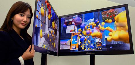 LG stellt dünnsten Flachbildschirm der Welt vor