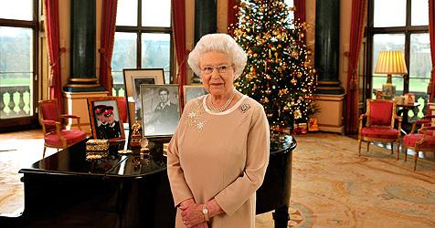 Queen feiert mit Familie auf Schloss Sandringham