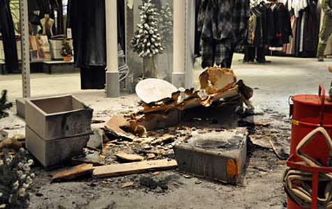 Brand in Modehaus richtet 650.000 Euro Schaden an (Bild: www.ff-gars.at)