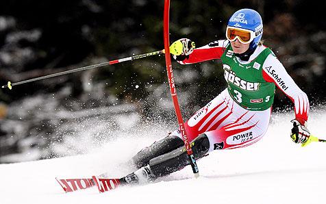 Marlies Schild siegt mit 1,83 Sekunden Vorsprung (Bild: APA/Hans Klaus Techt)