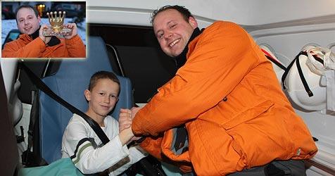 Elfjähriger stürzt mit Rodel 60 Meter über Felshang ab (Bild: Andreas Kreuzhuber)