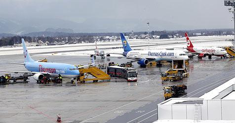 Flughafen Salzburg beförderte 2010 mehr Passagiere (Bild: Markus Tschepp)