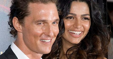 McConaughey freut sich über Geburt seiner Tochter