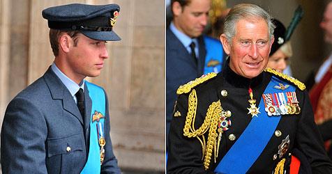 William will Charles den Thron nicht streitig machen