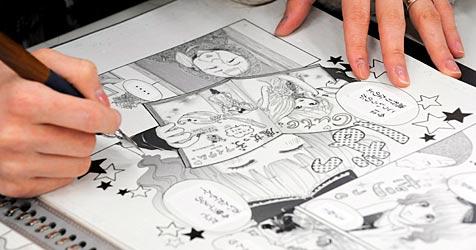 Comics in Taiwan als Pflichtlektüre für Staatsanwälte (Bild: EPA)