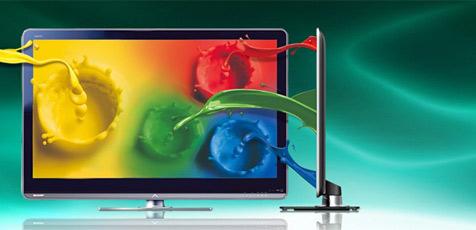 Sharp spendiert LCD-Fernsehern vierte Farbe (Bild: Sharp)