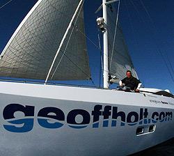 Erstmals segelte ein Gelähmter alleine über Atlantik (Bild: AFP)