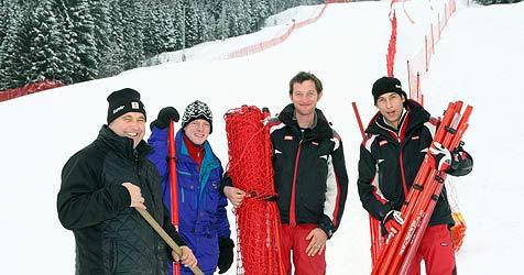 Weltcup-Party in Flachau dauert vier Tage - Piste perfekt (Bild: Andreas Kreuzhuber)