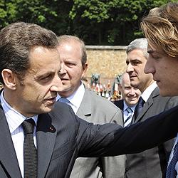 """""""Darty""""-Erbin gebar erstes Enkelkind von Nicolas Sarkozy"""