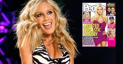Heidi Montag ist besessen von Schönheits-OPs