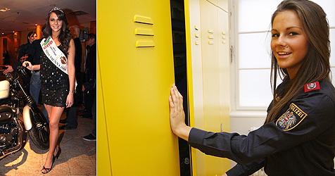 """""""Miss Vienna 2009"""" macht nun Karriere bei Wiener Polizei (Bild: APA/CITYFOTO.AT (1), Martin A. Jöchl  (1))"""