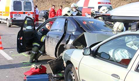 14 Verletzte bei drei Verkehrsunfällen auf der A1 (Bild: Hannes Draxler / FF Stadt St. Valentin)