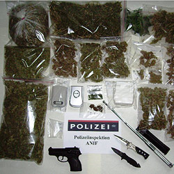 Fahnder stellen Drogen im Wert von 12.000 Euro sicher (Bild: Polizei)