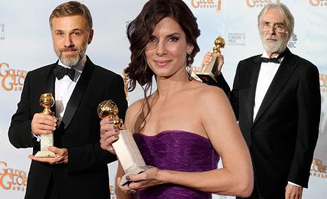 Jubel über Golden Globes für Waltz und Haneke