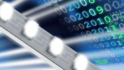 500 Megabit pro Sekunde mit weißer LED übertragen (Bild: Osram)